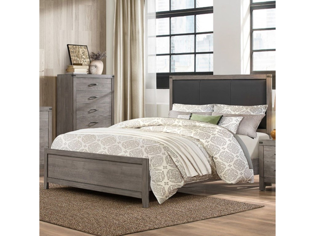 Homelegance 2042Contemporary Queen Bed