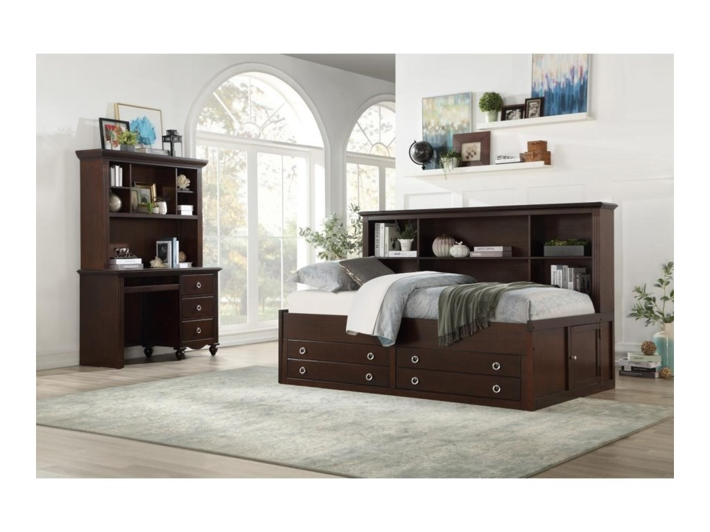 Homelegance 2058CFull Bedroom Group