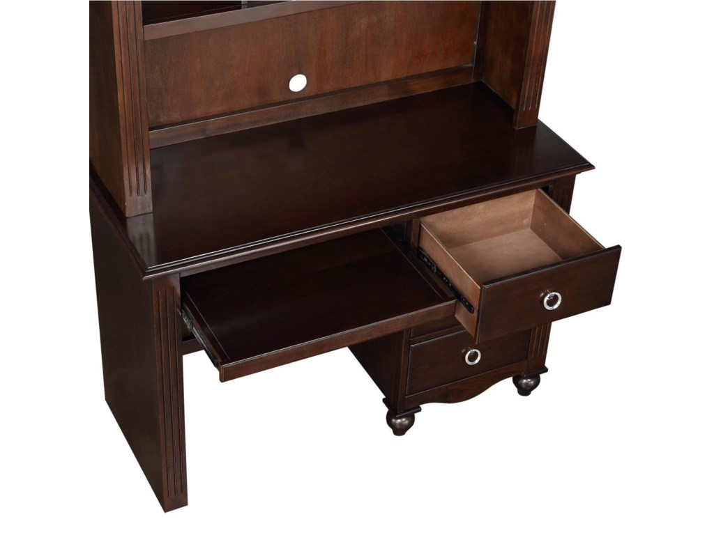 Homelegance 2058CWriting Desk and Hutch