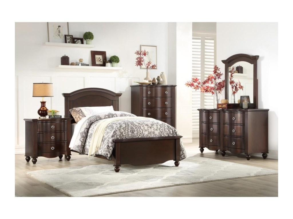 Homelegance 2058CTwin Bed