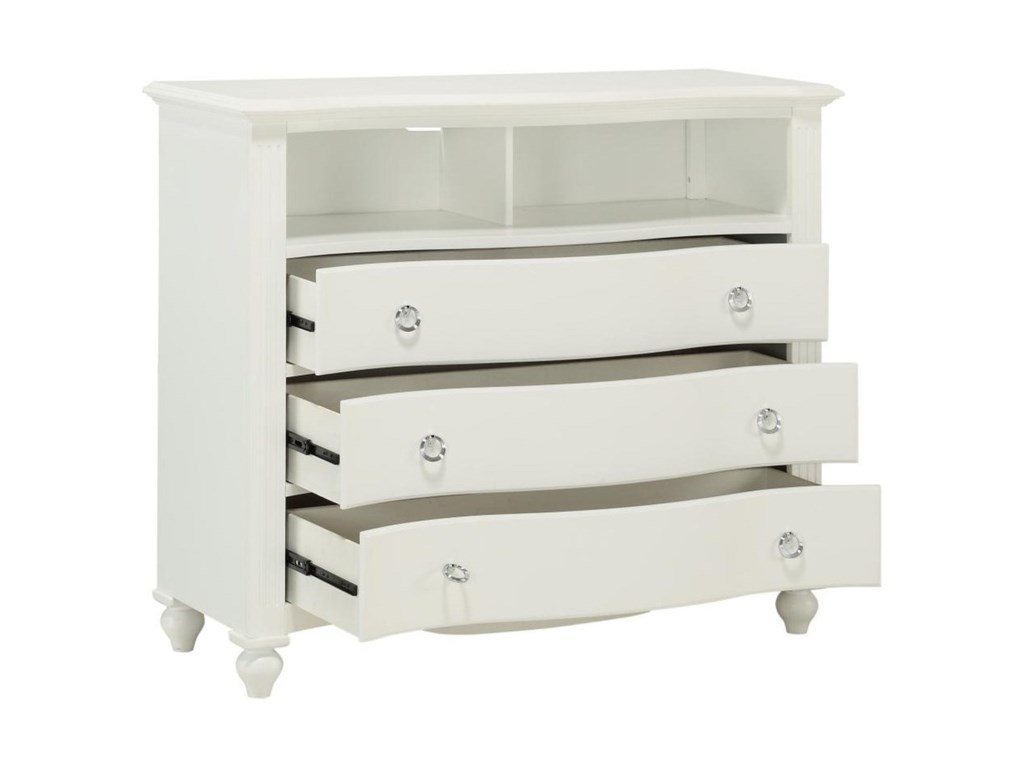 Homelegance 2058WHMedia Chest