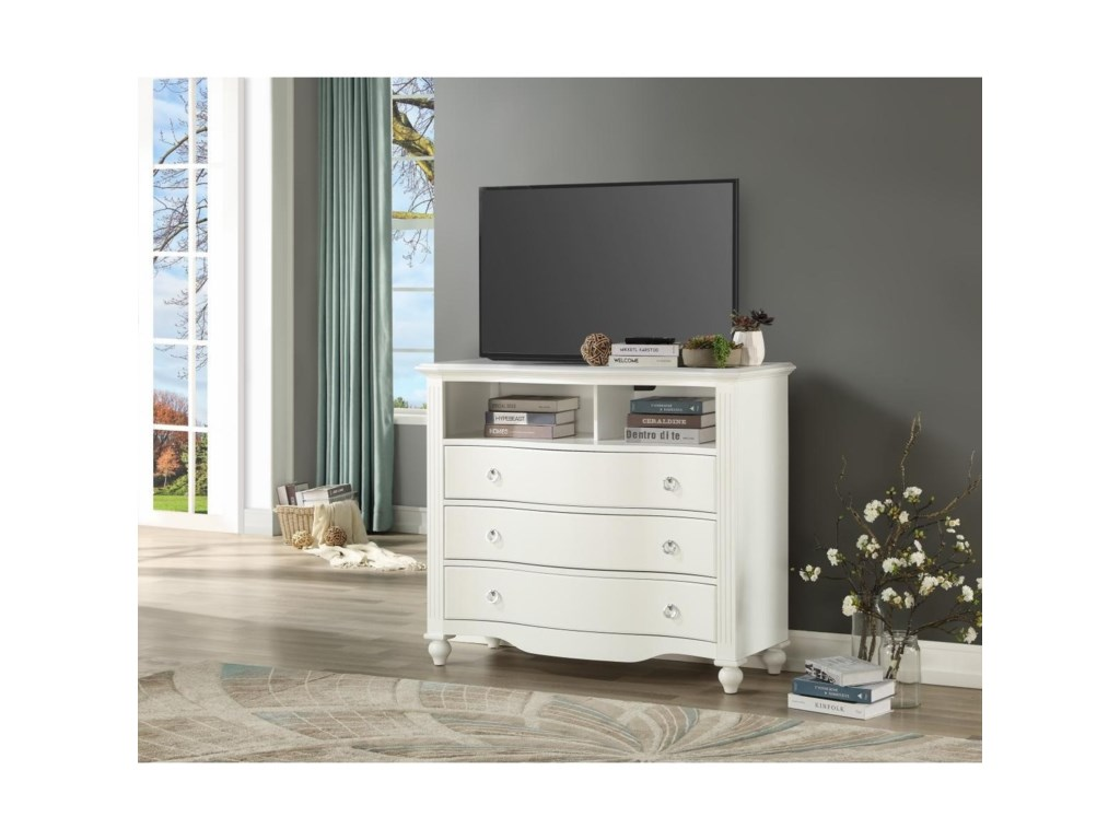 Homelegance Furniture 2058WHMedia Chest