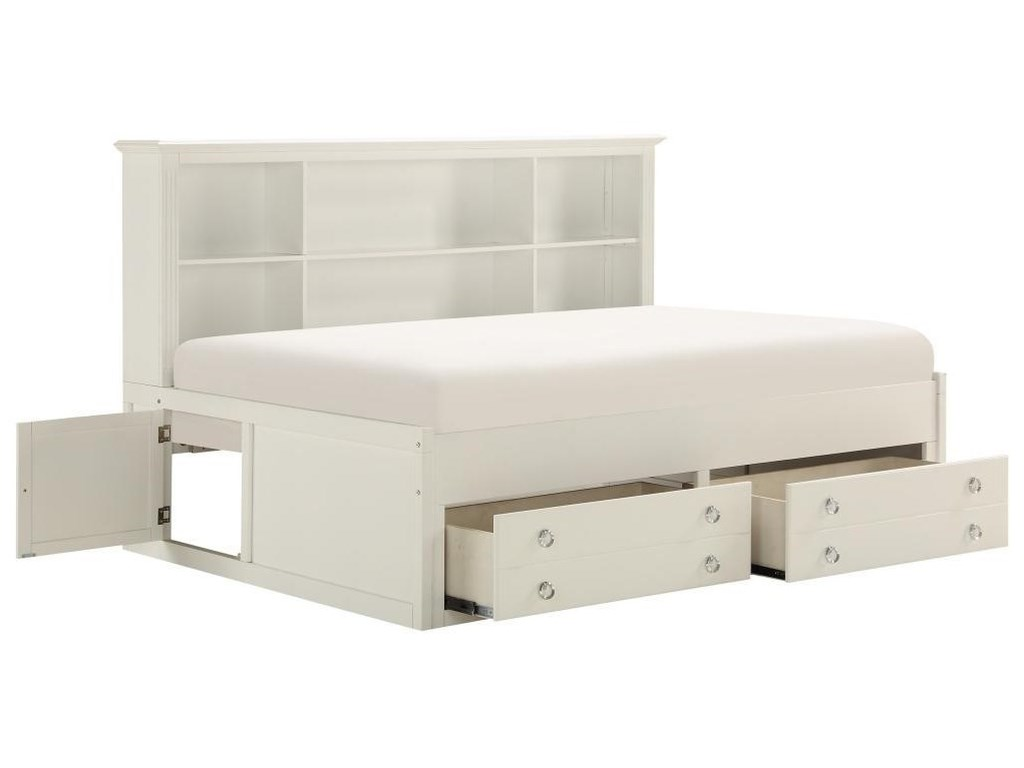 Homelegance Furniture 2058WHTwin Daybed