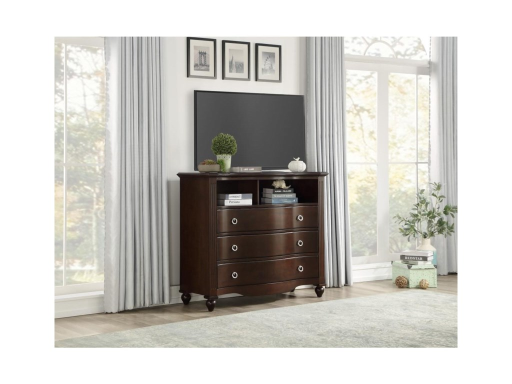 Homelegance 2058CMedia Chest