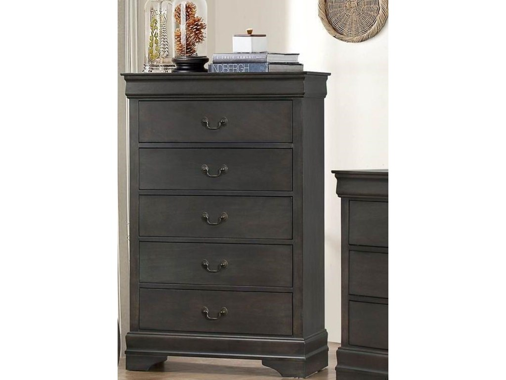 Homelegance MayvilleGray Chest