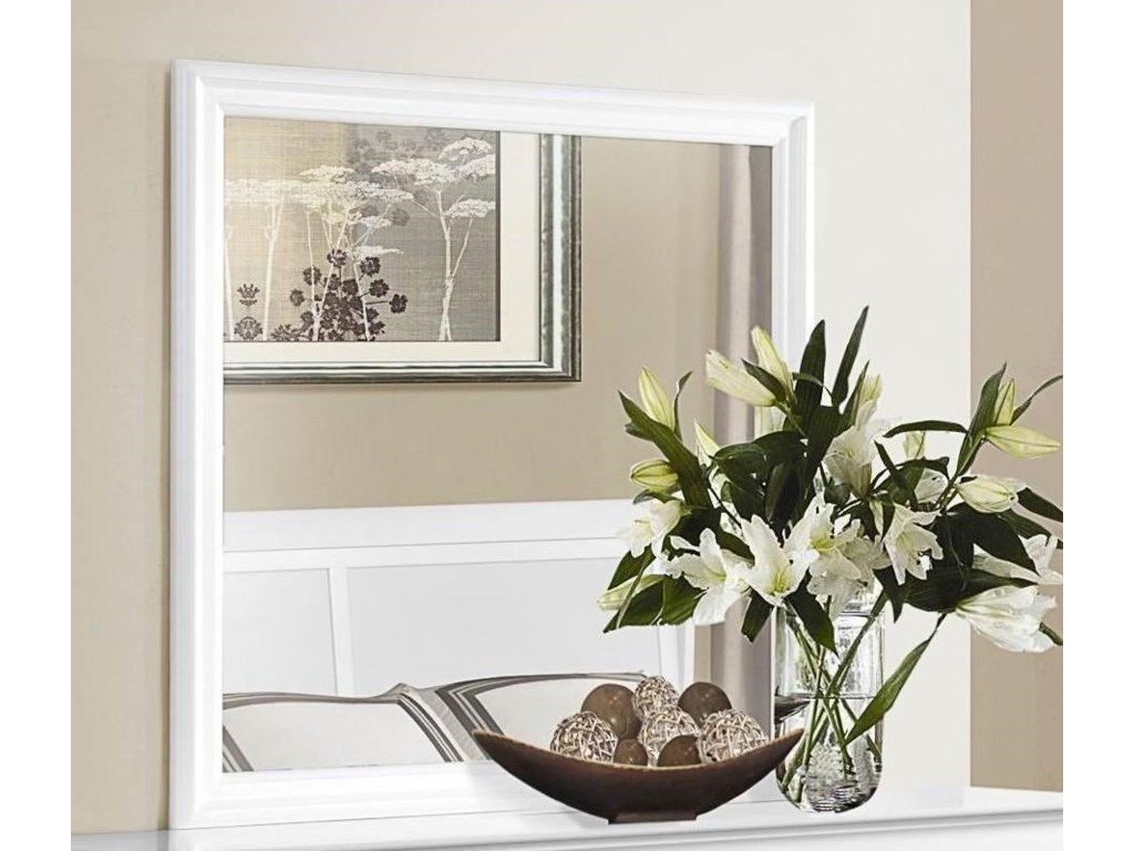 Homelegance MayvilleWhite Mirror
