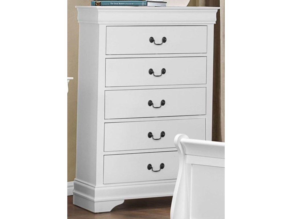 Homelegance MayvilleWhite Chest