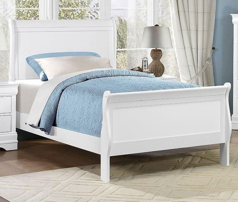 Homelegance MayvilleTwin White Bed