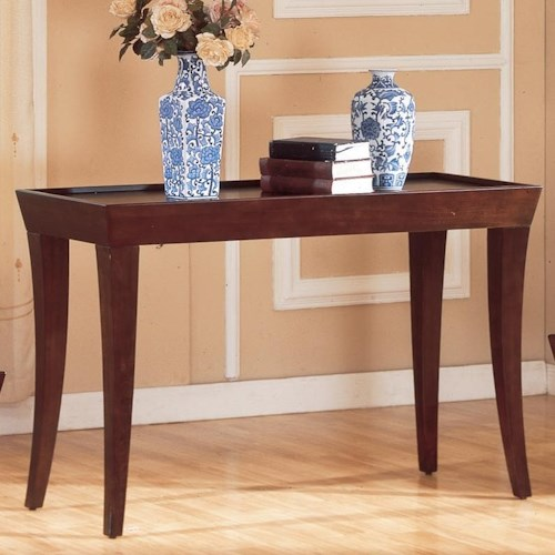 Homelegance Zen Casual Sofa Table with Espresso Finish