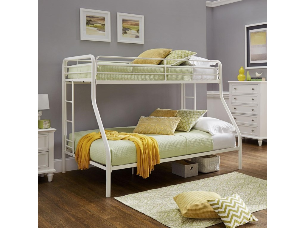 Homelegance Furniture 339TFTwin over Full Bunk Bed