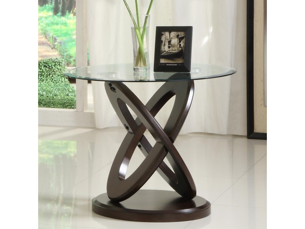 Homelegance 3401WRound End Table