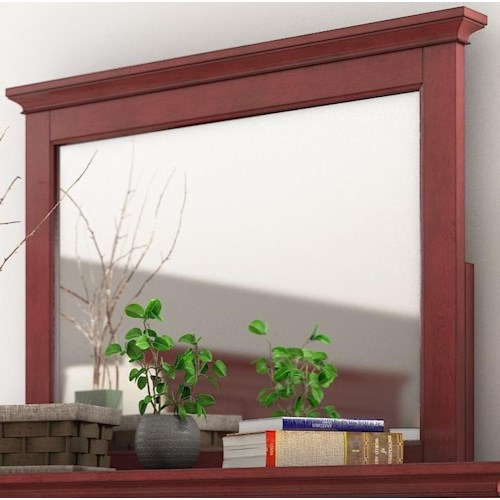 Homelegance 395 Casual Mirror