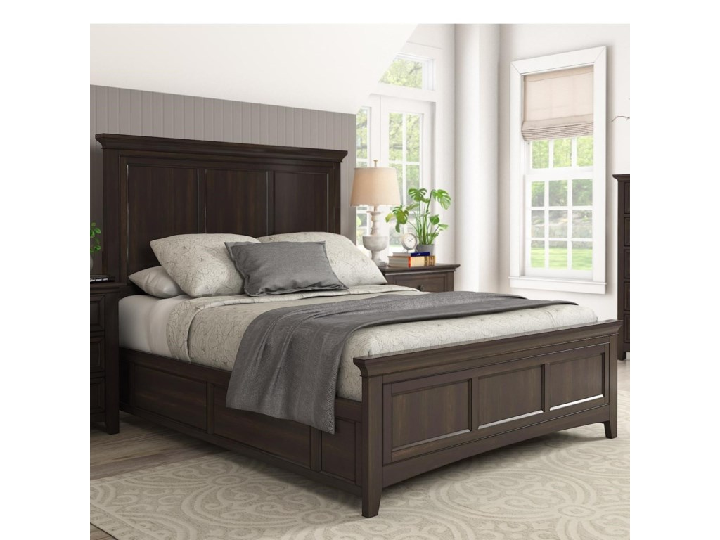Homelegance 395Queen Panel Bed