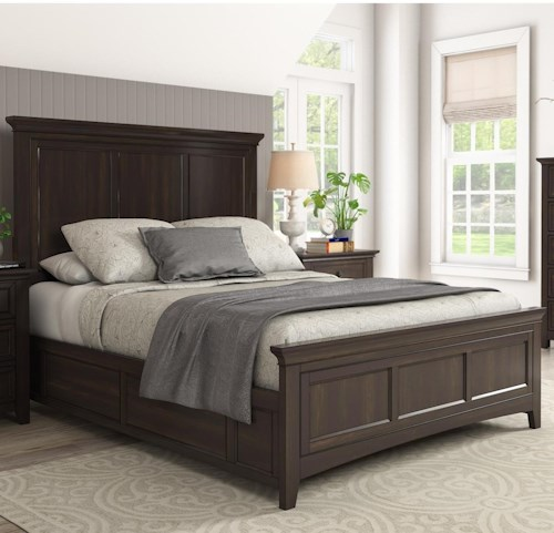 Homelegance 395 Casual Queen Panel Bed