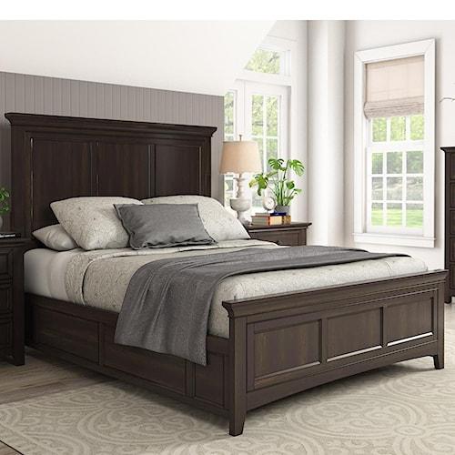 Homelegance 395 Casual Queen Panel Bed