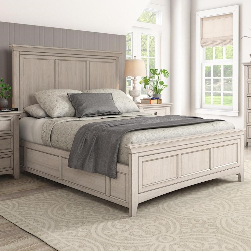 Homelegance 395queen panel bed