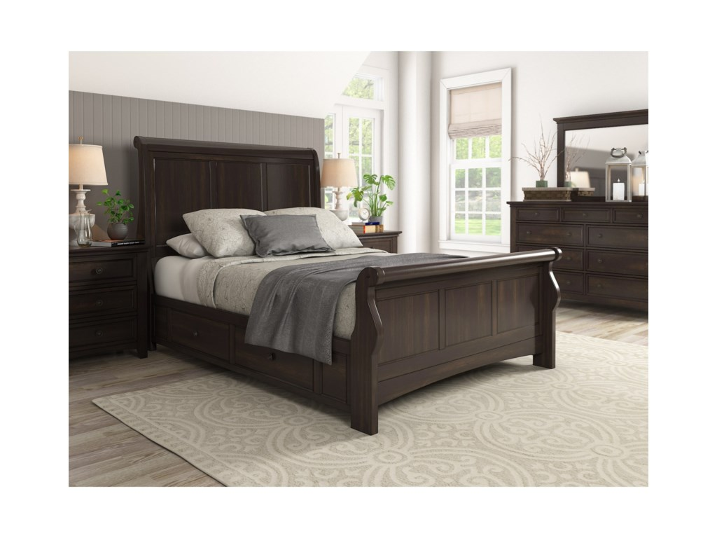 Homelegance 395Queen Bedroom Group