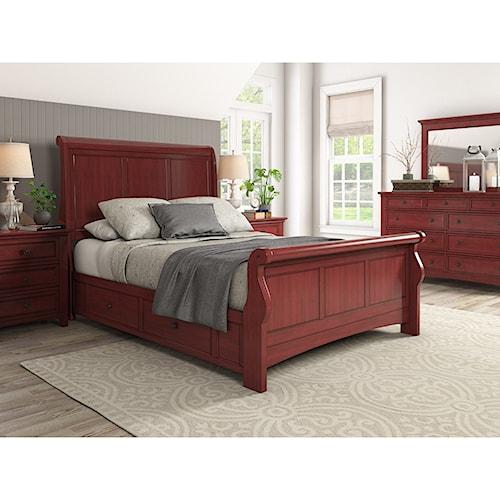 Homelegance 395 Queen Bedroom Group