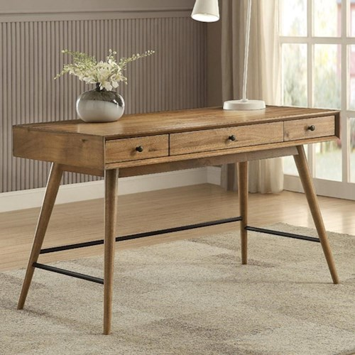 Homelegance Lavi Contemporary Writing Desk with Storage