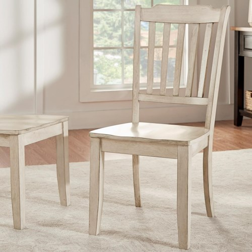 Homelegance 530 Dining Side Chair with Spindle Back
