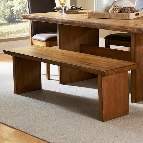 Homelegance 5479 Contemporary Wood Dining Bench