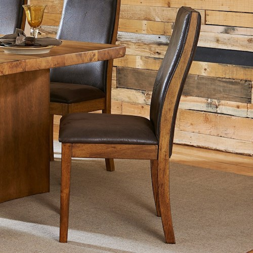 Homelegance (Clackamas Only) 5479 Contemporary Upholstered Dining Side Chair