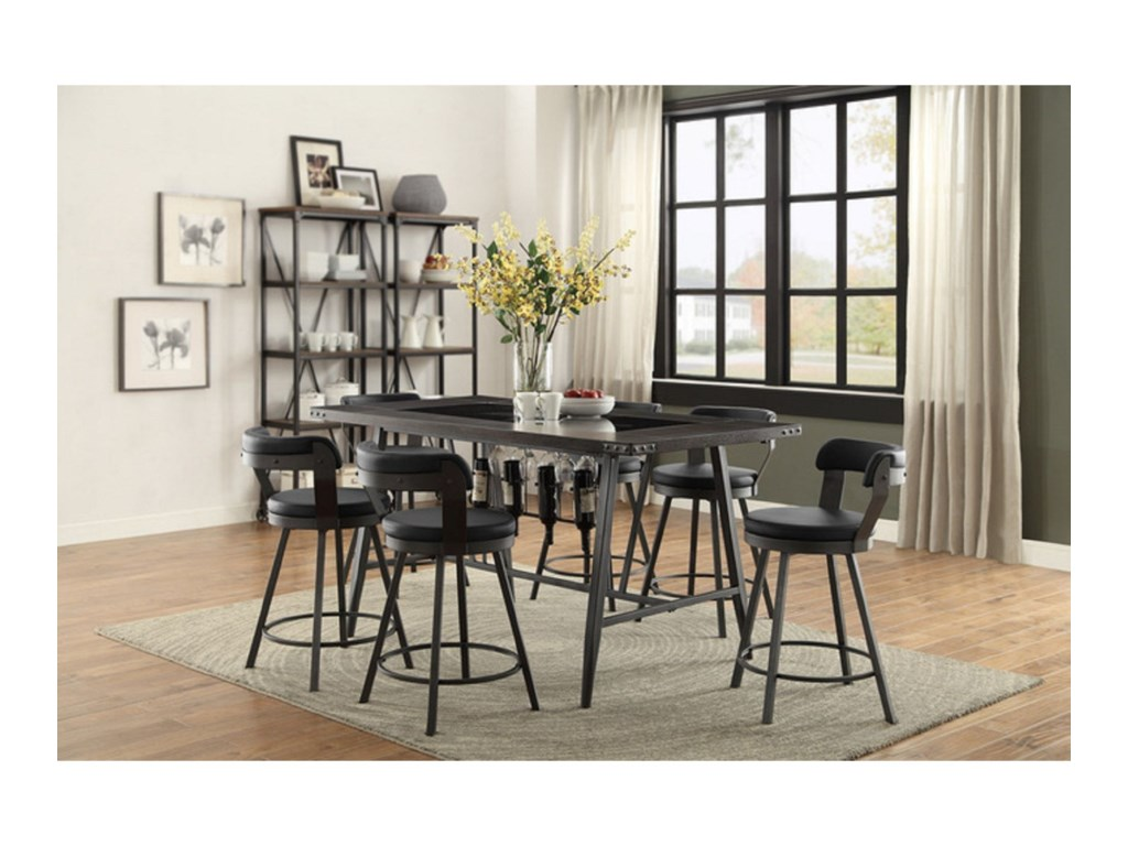 Homelegance Furniture 5566Counter Height Table