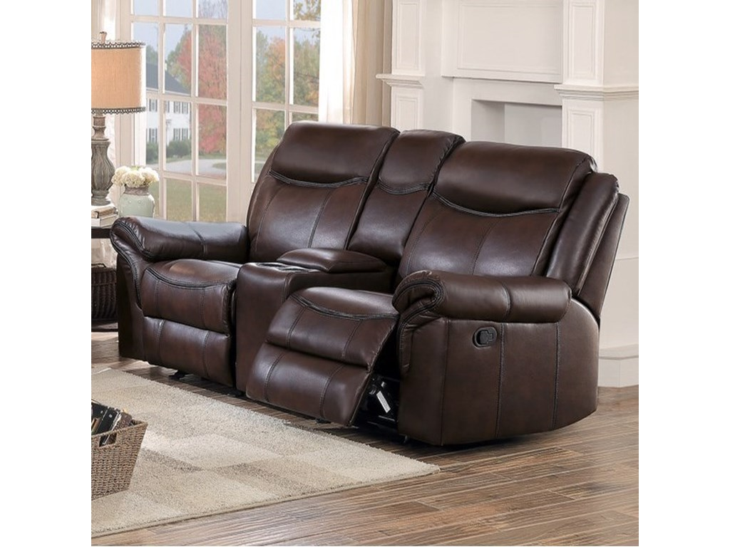 Homelegance 8206Reclining Loveseat
