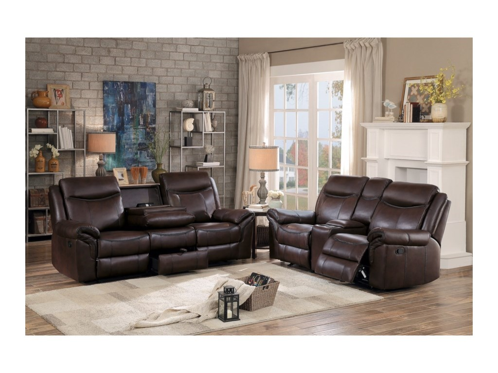 Homelegance 8206Reclining Sofa