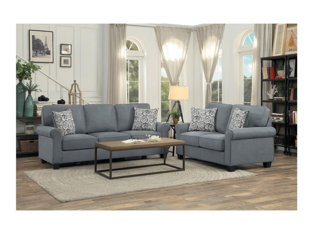 Homelegance SelkirkLiving Room Group