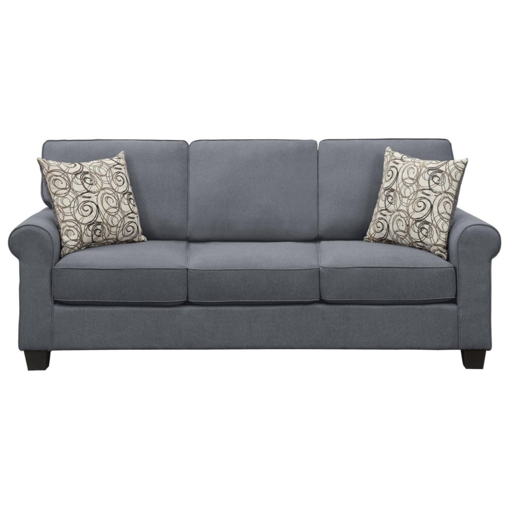 Homelegance Selkirk Transitional Sofa Sleeper With Removable Seat