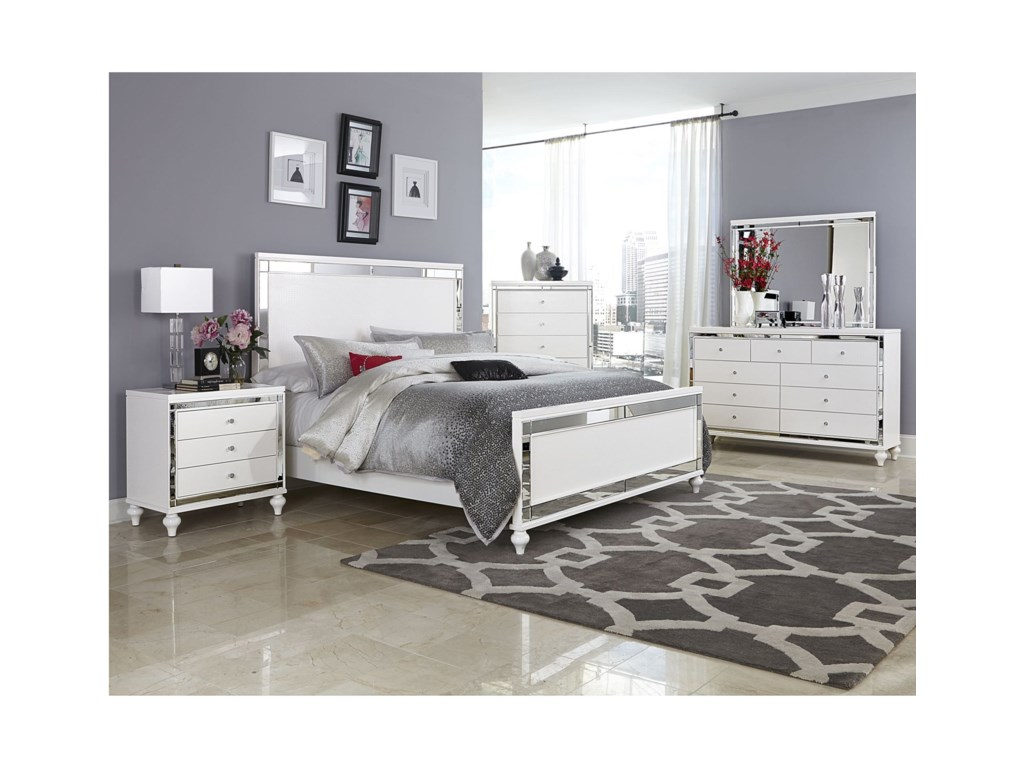 Homelegance AlonzaCal King Bedroom Group