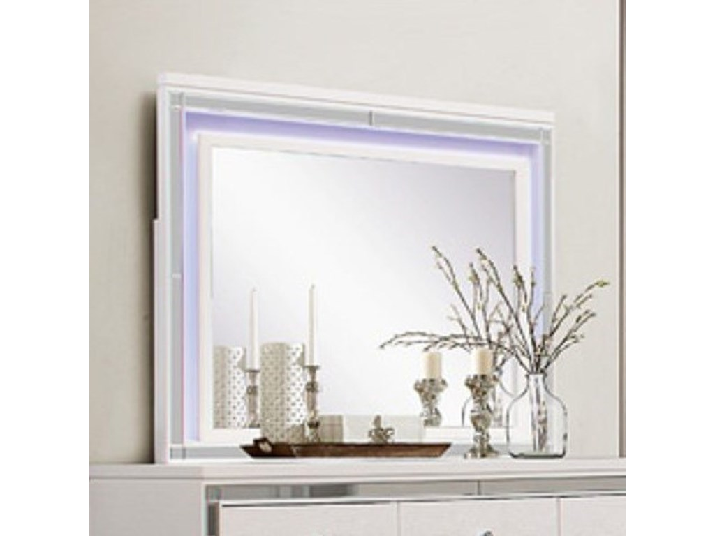 Homelegance AlonzaLED Lit Mirror