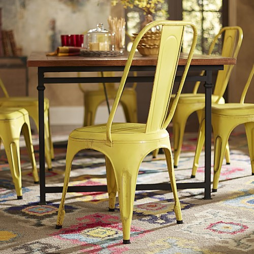 Homelegance Amara Metal Side Chair