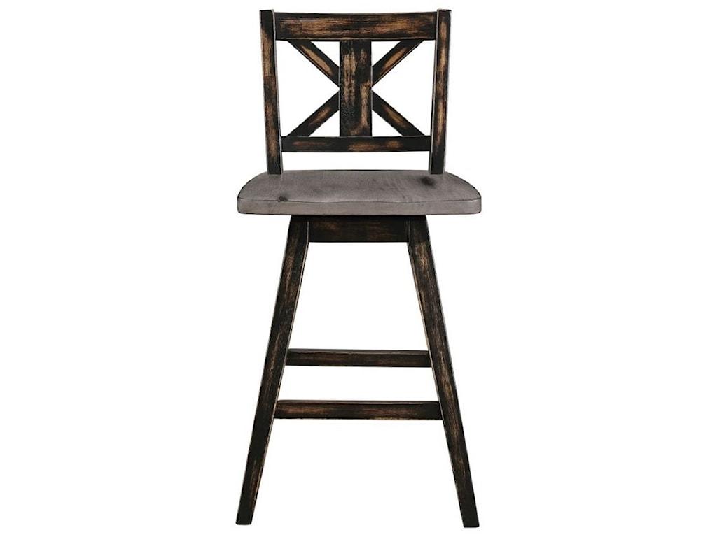 Homelegance AmsoniaSwivel Counter Height Chair