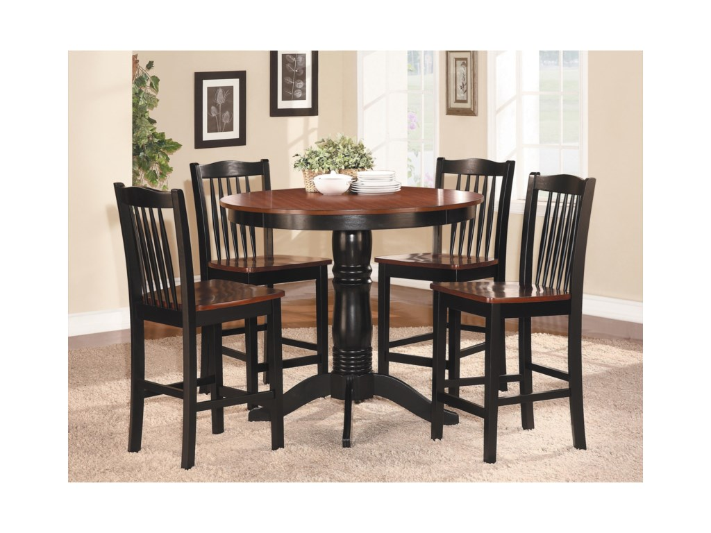 Homelegance AndoverCounter Height Table and Chair Set