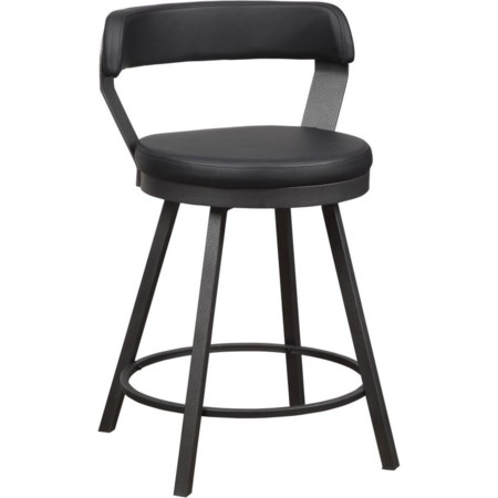 swivel counter height bar stool