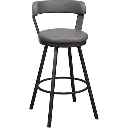swivel bar height bar stool