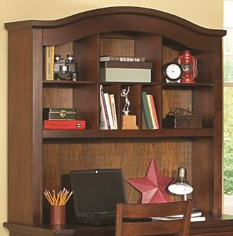 Homelegance Aris Casual Computer Desk Hutch with 8 Shelves