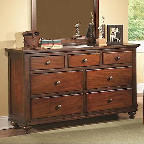 Homelegance Aris Casual 7 Drawer Dresser