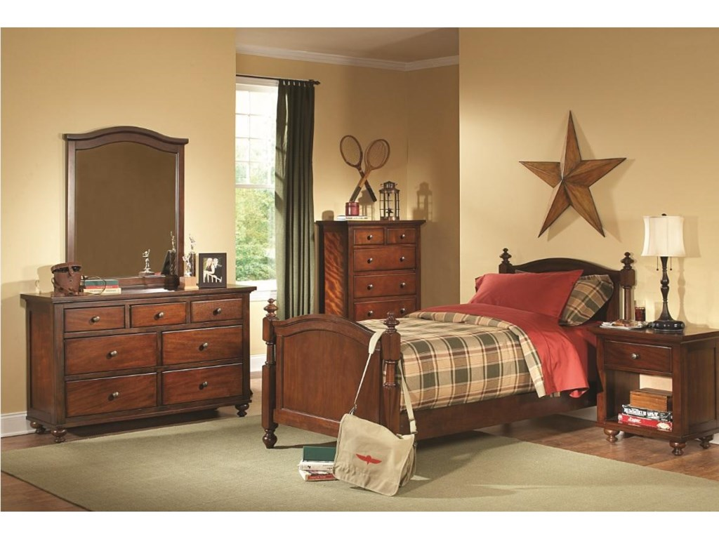 Homelegance ArisTwin Bed