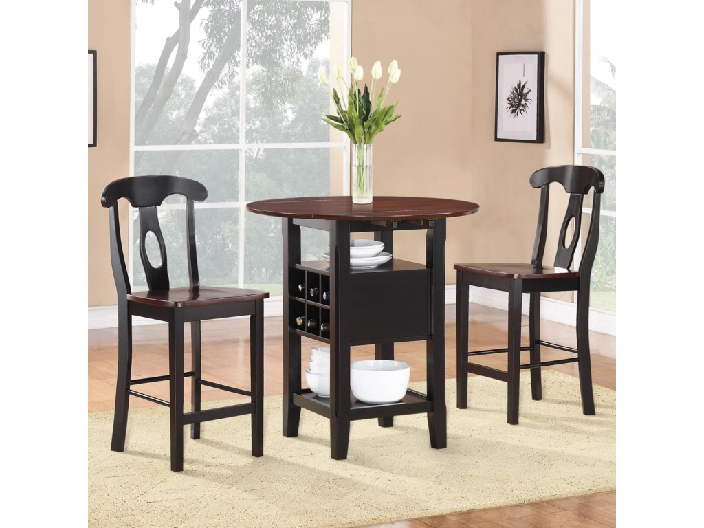 Homelegance AtwoodPub Table and Chair Set