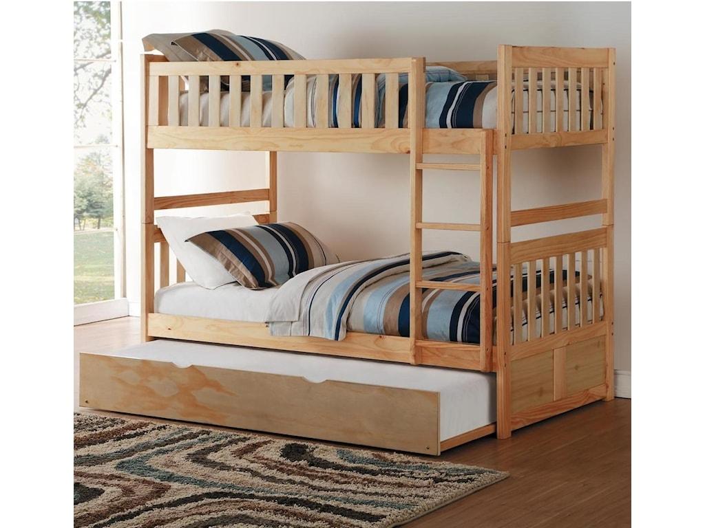 Homelegance BartlyTwin/Twin Bunk Bed