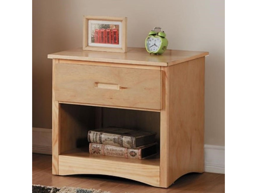 Home Style NaturalYouth Night Stand
