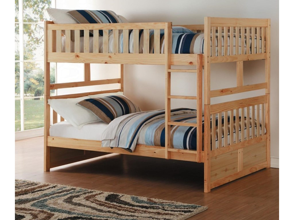 Homelegance BartlyFull/Full Bunk Bed