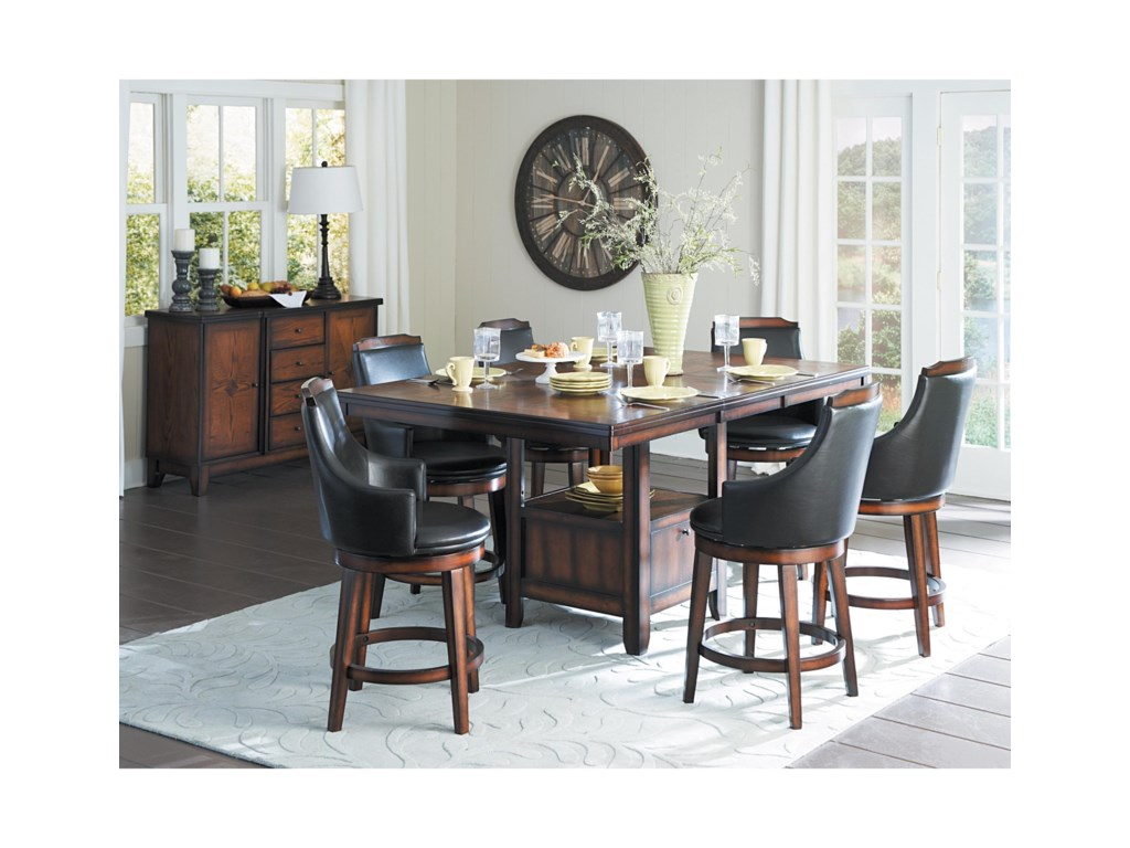 Homelegance BayshoreCounter Height Dining Room Group