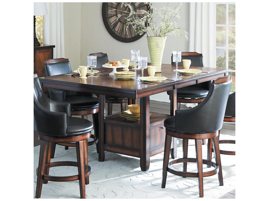 Homelegance BayshoreCounter Height Table and Chair Set
