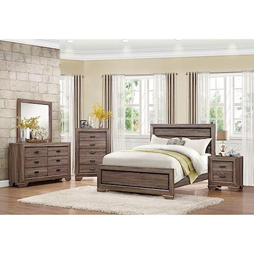Homelegance Beechnut Queen Bedroom Group