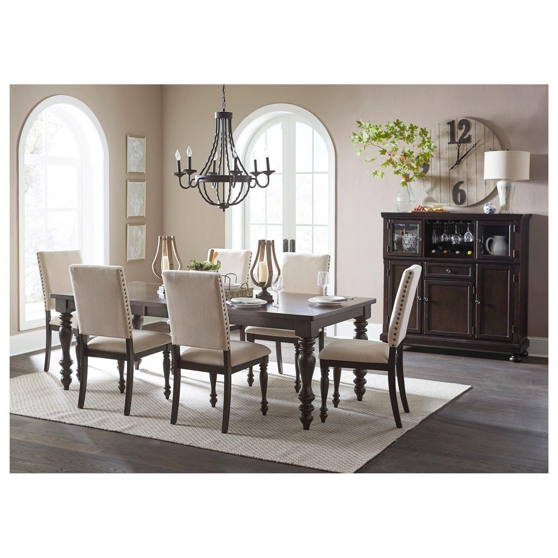 Attractive Homelegance BegoniaFormal Dining Room Group