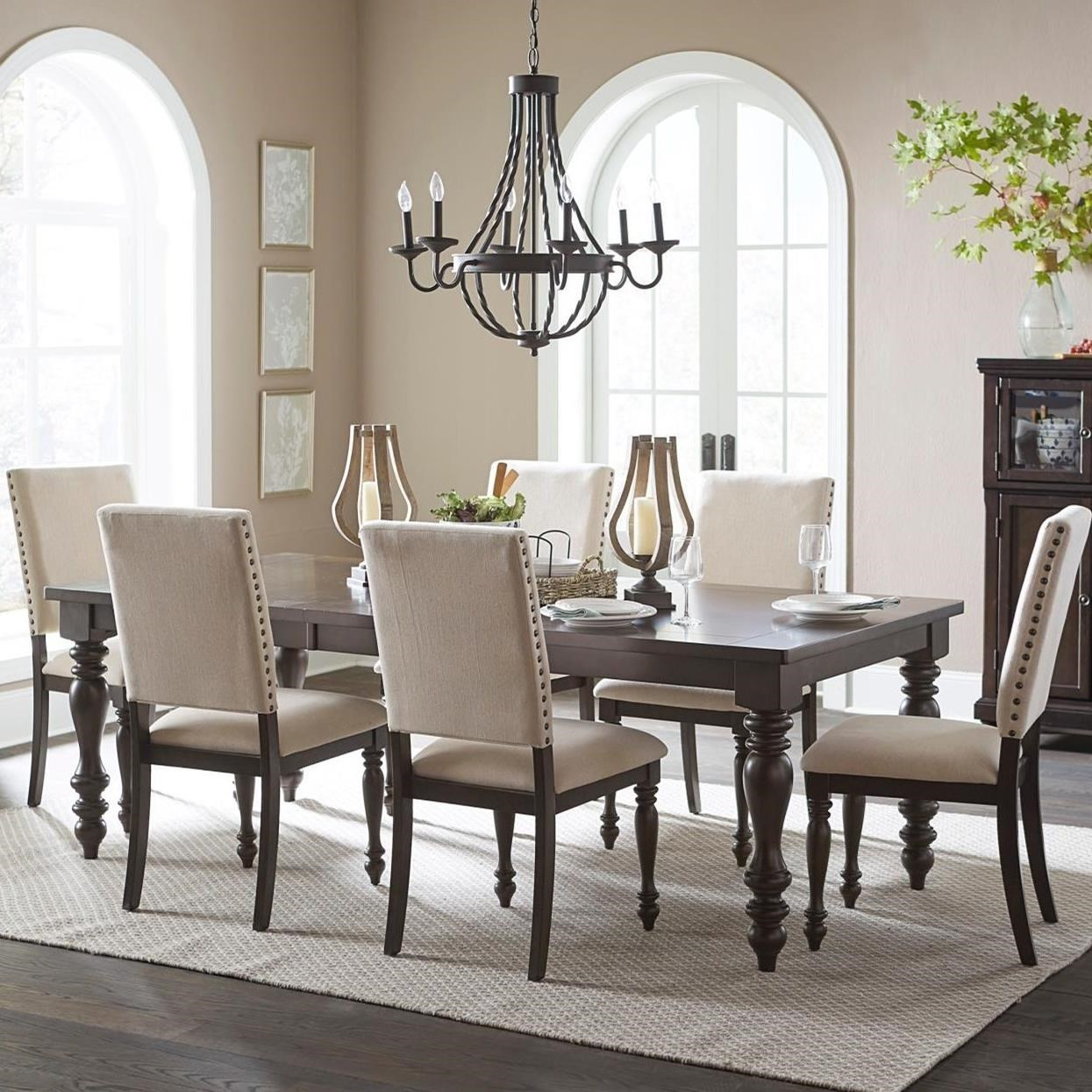 Homelegance Begonia7 Piece Dining Table Set